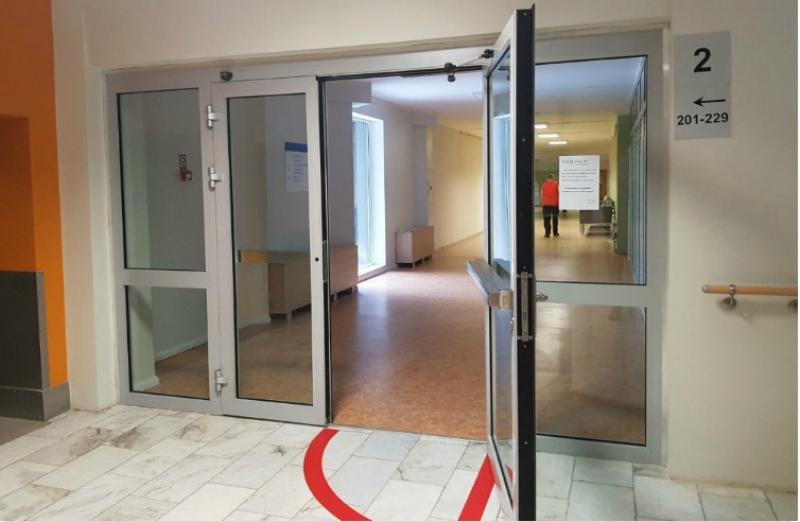 Противопожарные перегородки и двери Ponzio PE 78 EI