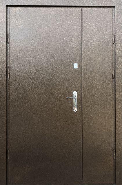 Входная дверь Redfort Метал-Метал с притвором 1200 мм