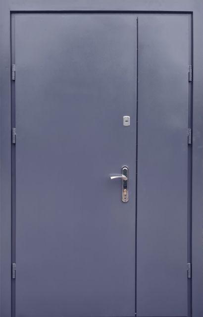 Входная дверь Форт Металл/Металл полуторная