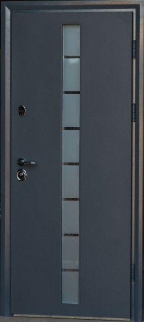 Входная дверь Very Dveri Грей-Глас 850 мм