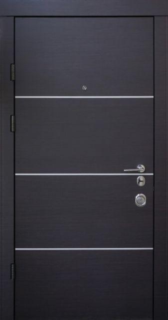 Входная дверь Qdoors Авангард Горизонт-AL 850 мм