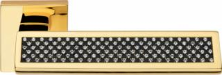 Ручка на розетке Riflesso Black Linea Cali
