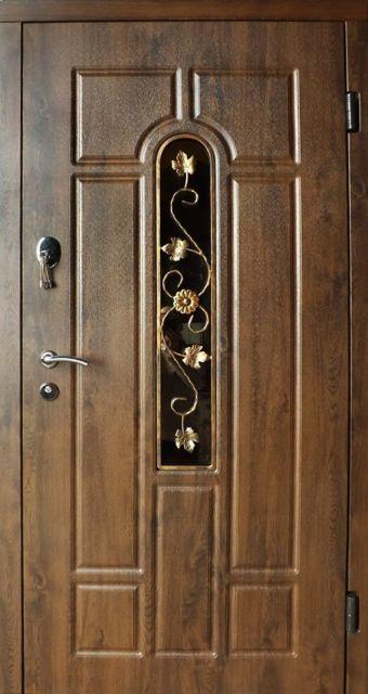 Входная дверь Redfort Арка ковка 960 мм