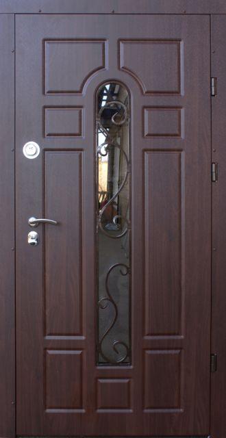 Входная дверь Форт-М Классик ковка 960 мм