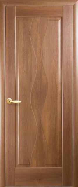 Межкомнатная дверь Новый стиль Волна глухое