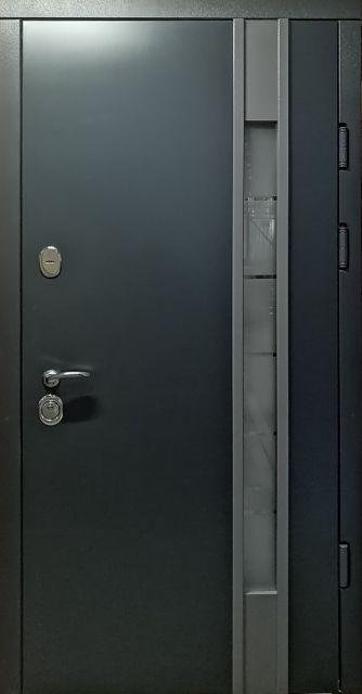 Входная дверь Redfort Авеню без ковки серая