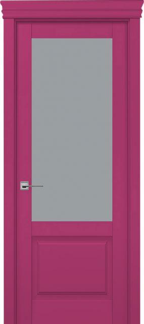 Межкомнатная дверь Tsi Dveri Premiera Due Vetro без обклада
