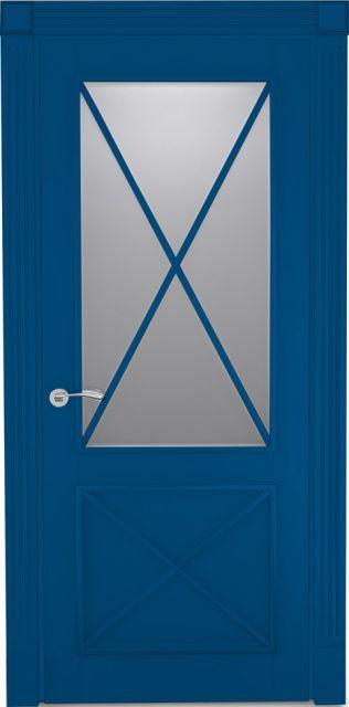 Межкомнатная дверь Tsi Dveri Provenza Duo Vetro