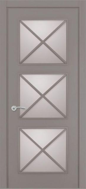 Межкомнатная дверь Tsi Dveri Provenza Terzetto Vetro