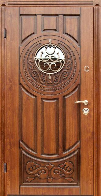 Входная дверь ABWEHR Модель 179 Luck Glass