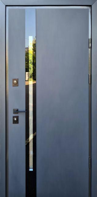 Входная дверь Straj PROOF Slim Z Антрацит
