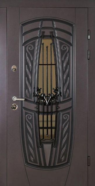 Входная дверь ABWEHR Модель 209 Gracia Glass 960 мм