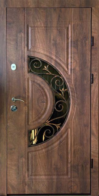 Входная дверь Redfort Рассвет с ковкой улица 860 мм