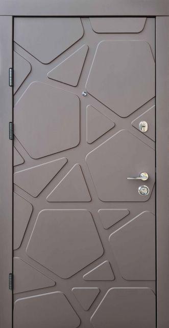 Входная дверь Qdoors Премиум Делюкс Гладь 950 мм