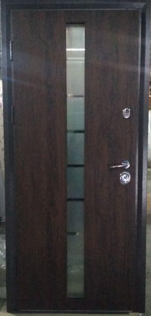 Входная дверь Very Dveri Браун Глас 850 мм