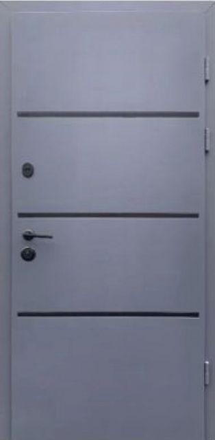 Входная дверь Форт-М Lama Bau Графит 960 мм