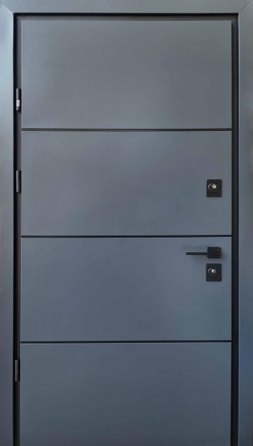 Входная дверь Straj Party D Антрацит 970 мм