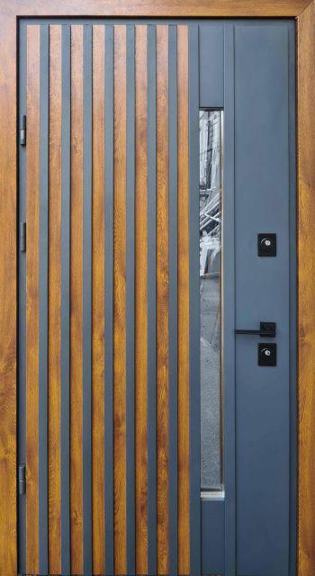 Входная дверь Straj Rio-Z Loft Золотой дуб 970 мм