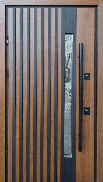 Входная дверь Straj Rio-Z Loft ручка DMD 970 мм