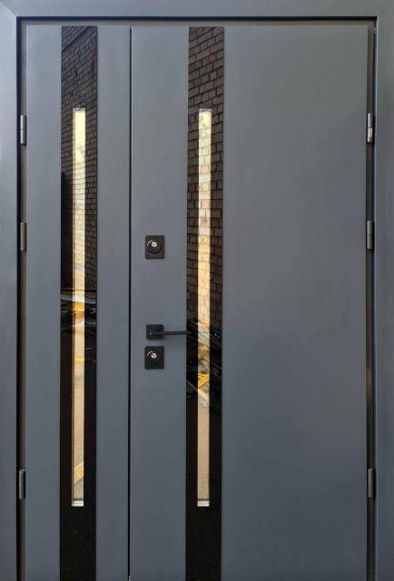 Входная дверь Straj PROOF Slim-Z Антрацит 1220 мм